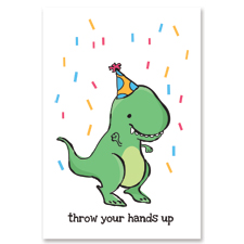 T Rex Birthday Greeting Card happy birthday t rex!!! butch femme planet